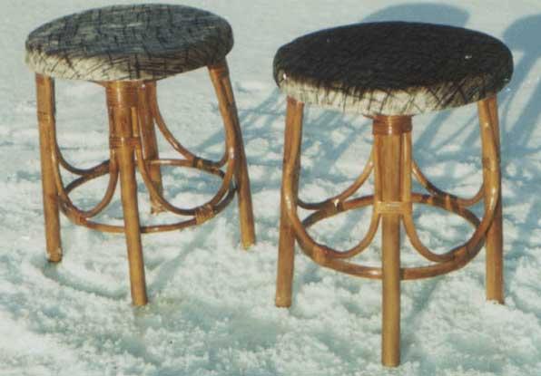 Как сделать стул из ивы своими руками
